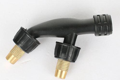 Two Head Plastic Nozzle