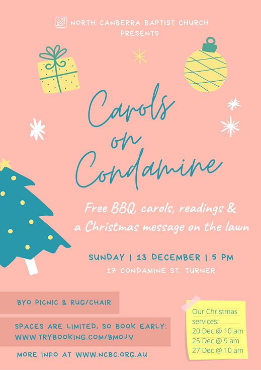 Peach and Teal Carols Poster (1).png