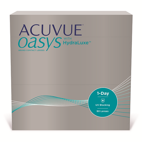 Acuvue Oasys 1 Day with Hydraluxe 90 pack