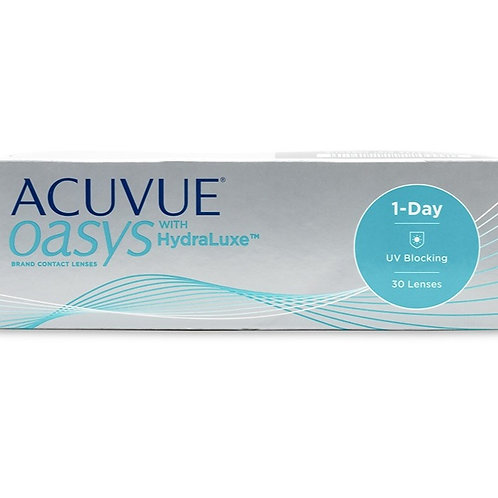 Acuvue Oasys 1 Day with Hydraluxe 30 pack