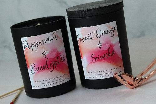 Peppermint & Eucalyptus Spa Candle