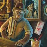 Zerostreet Jimenez Tiki Tower Bar Art Ap