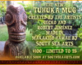 TUHUKA-MUG-gecko-south-sea-arts-tiki-tow