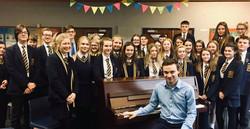 Outreach in Omagh Academy