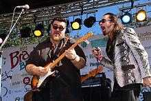 Blues Music Award Winners Nick Moss and Dennis Gruenling