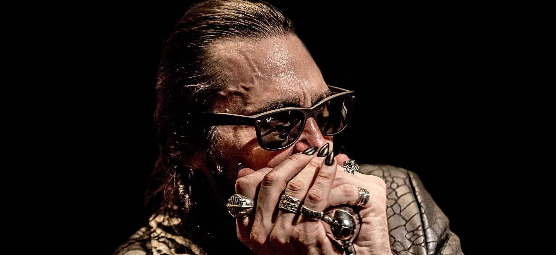 Dennis Gruenling blues harmonica