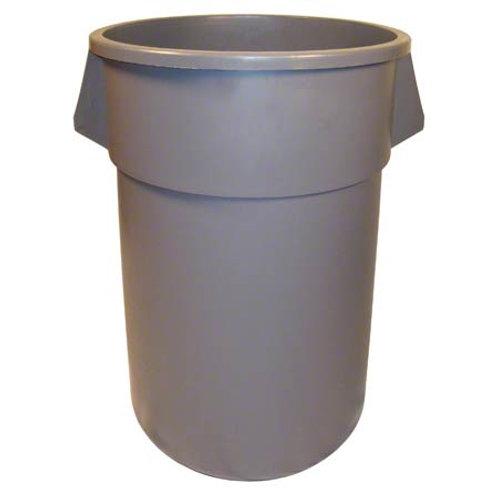 Round Huskee w/o lid - 55 Gal., Grey