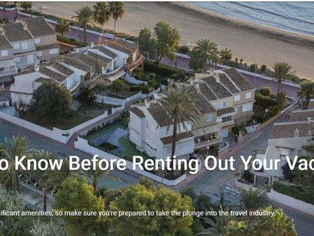 What to Know Before Renting Out Your Vacation Home