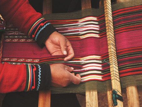 Fashion that speaks the heart of the makers and promotes traditional practices. The path forward...