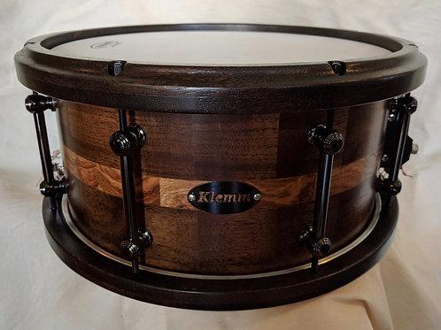Walnut/Zebra Symphonic Snare Drum