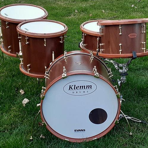 Five PieceWalnut Drum Kit