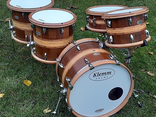 Five Piece Multi-wood Drum Kit