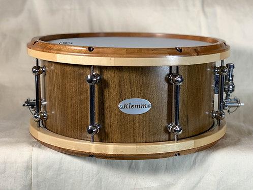 Walnut Snare with Jatoba/Maple rims