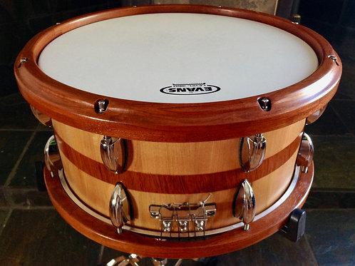 Double Cherry Snare Drum