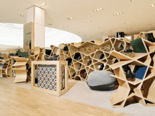 Sergio Rossi Shop by Younes Duret Design