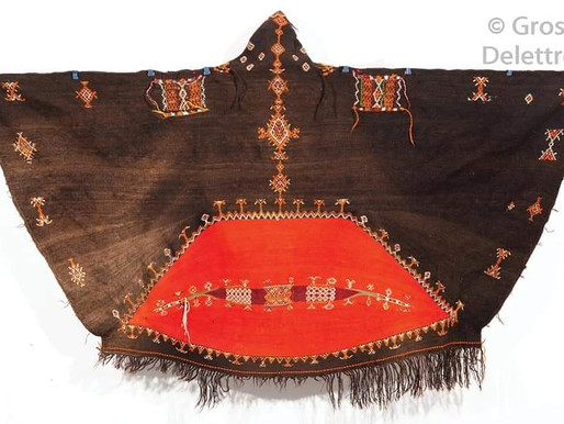Moroccan Akhnif (Hooded cape) أخنيف