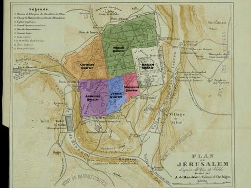 Old Jerusalem maps