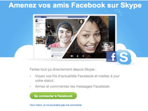 [Breaking News] Vous pouvez désormais appeler en vidéo vos amis #Facebook depuis #Skype !