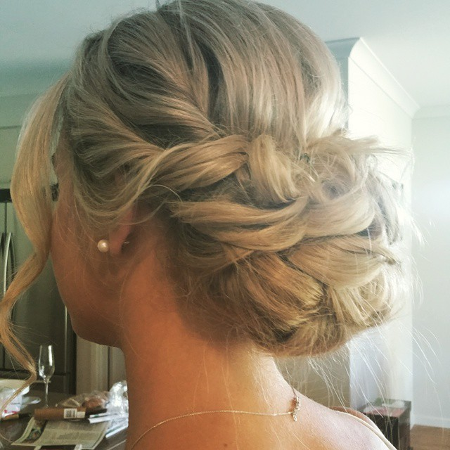 #bridesmaids #hair #weddinghair #kristiehedingtonhairandmakeup #bridebook