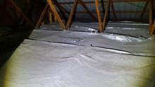 Safety Hazard Foil Insulation