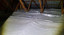 Safety Hazard Foil Insulation
