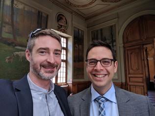 Brandon & Neir graduate from psychiatry residency