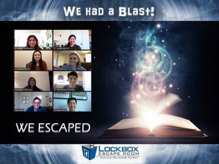STAARs escape the Zoom Escape Room!