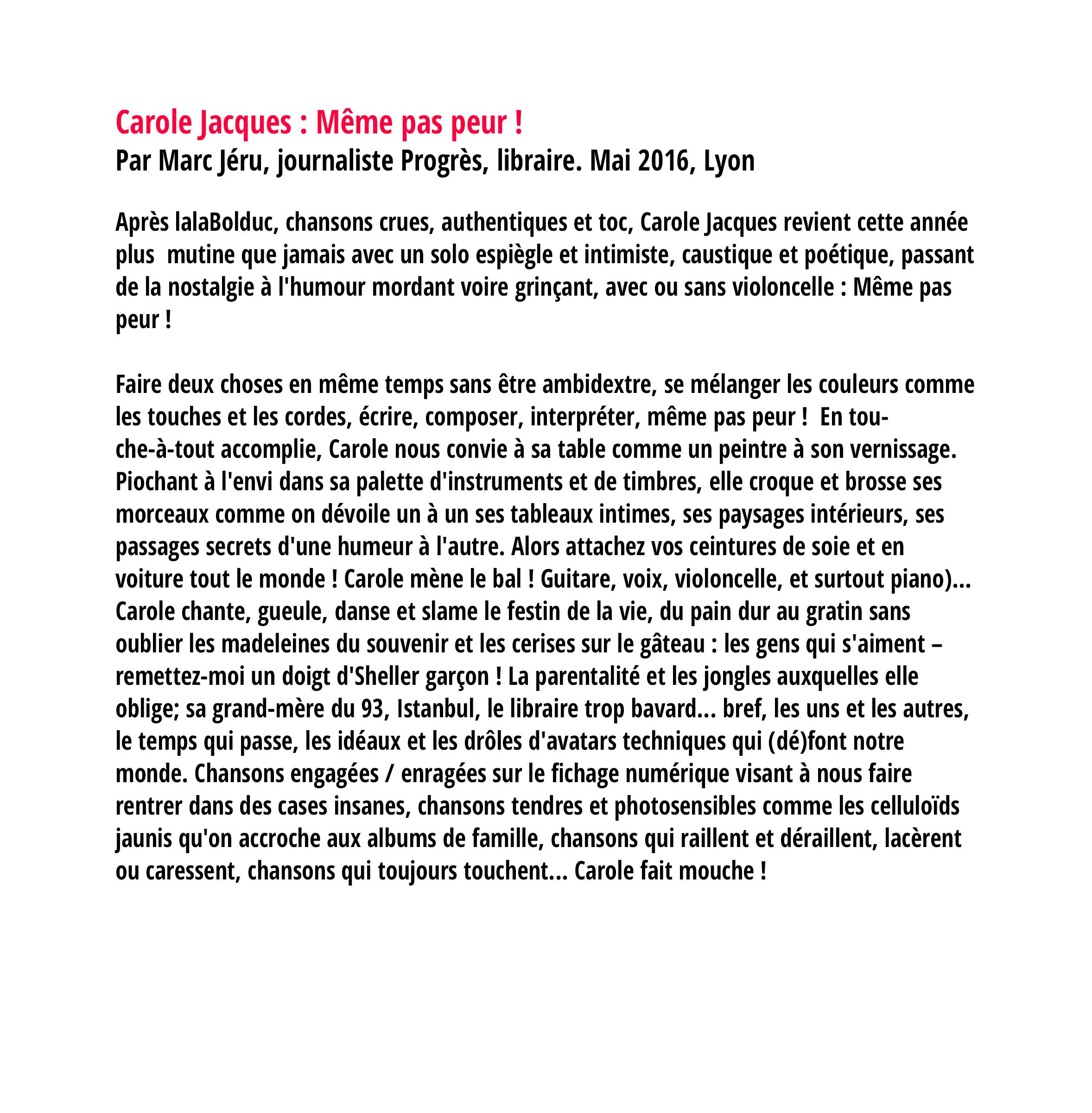 Carole Jacques