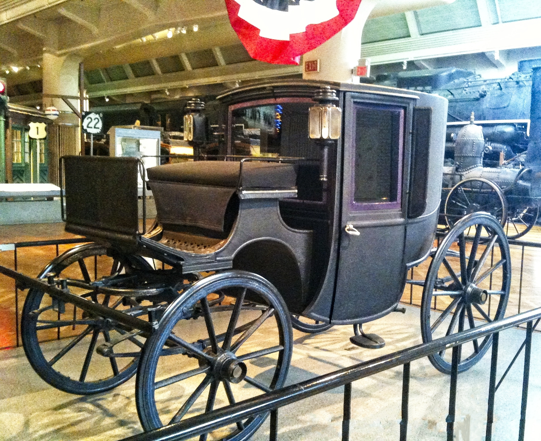 Teddy Roosevelts Circa 1902 Brougham Car