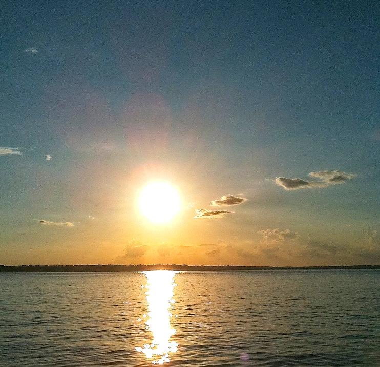 Lake Palestine Sunset Clouds Flint Texas