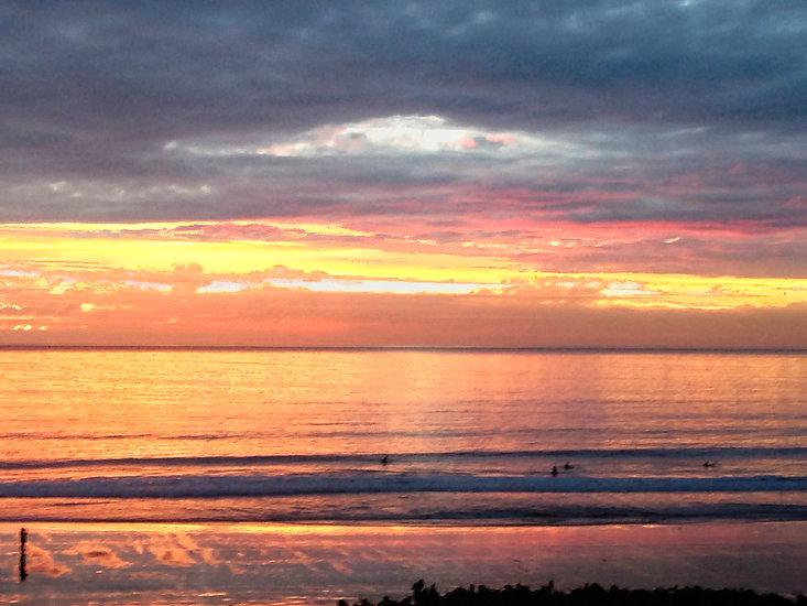 Beach Surfer Pacific Coast Hwy Calif. .j
