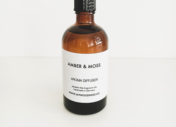 DIFFUSER AMBER & MOSS