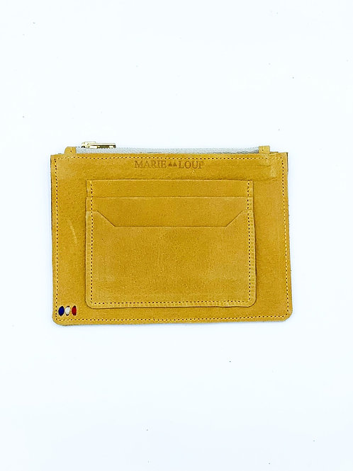 Pochette porte-monnaie - Miel