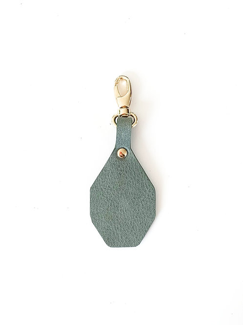 Porte-clés à personnaliser - vert amande