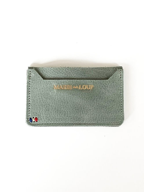 Porte-cartes - vert amande