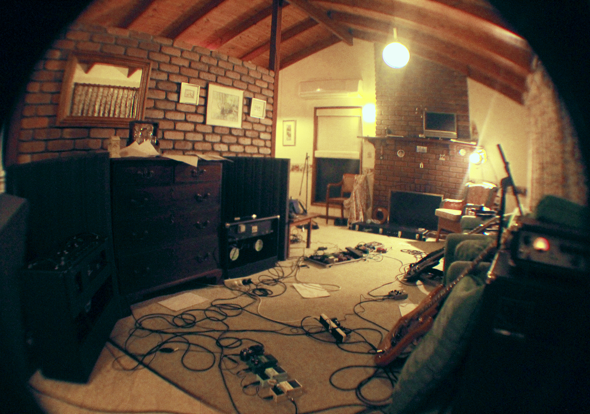 Maleny 2012 - Jam room