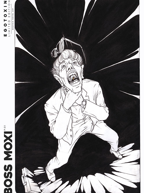 2019 Boss Moxi Egotoxin Comic A2 Poster | SCREAM