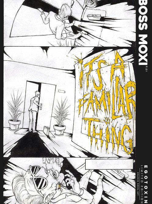 2019 Boss Moxi Egotoxin Comic A2 Poster | WITNESS