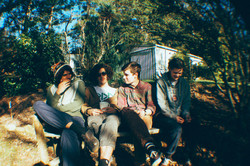 The band at the Maleny Sottage 2012.jpg