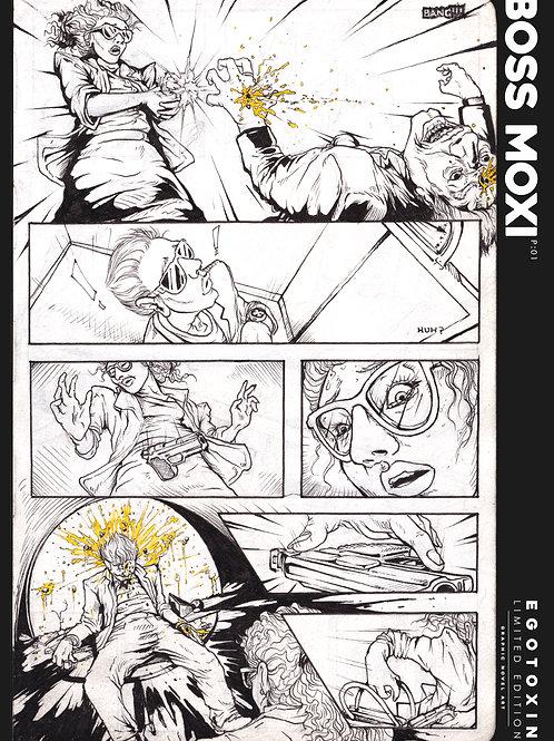 2019 Boss Moxi Egotoxin Comic A2 Poster | BLG