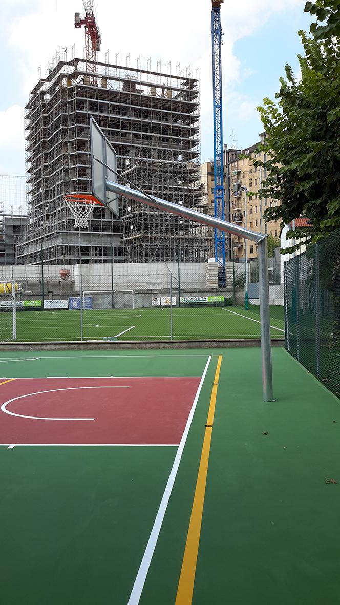 basket monotubo