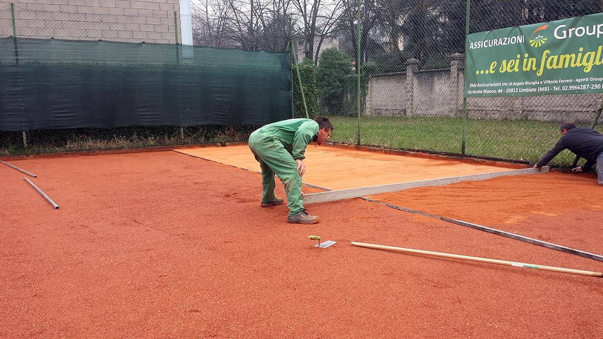 tennis terra rossa