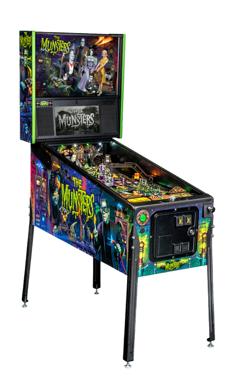 The Munsters Pro Pinball Machine by Stern