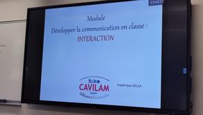 Continuamos trabajando sobre la interacción...