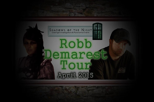 Ghost Hunt - Jedburgh Castle Jail With Rob Demarest as Lead Investigator