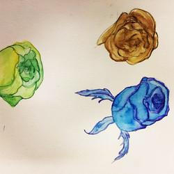 Les roses d'hiver