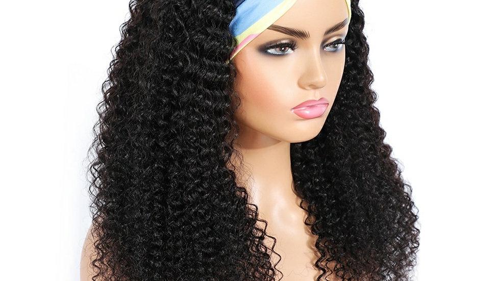 Peruvian Curly Rib Front Wig
