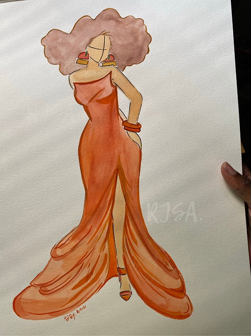 Ms. Pumpkin Spice print
