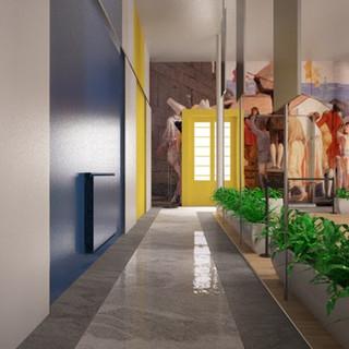 Restyling Foyer Sala Convegni Confindustria Foggia