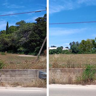 Otranto (LE) - Opere di mitigazione percettiva per la posa di una cabina di trasformazione E-DISTRIBUZIONE nei pressi dei Laghi Alimini